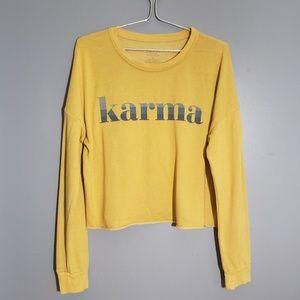 Soft cropped sweatshirt L Zoe + Liv